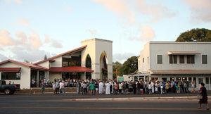Dedication of St. Damien Catholic Church on Dec. 11, 2011-a long awaited day!