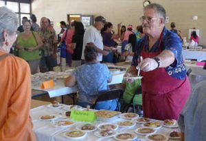 The annual parish fundraiser, the Country Fair